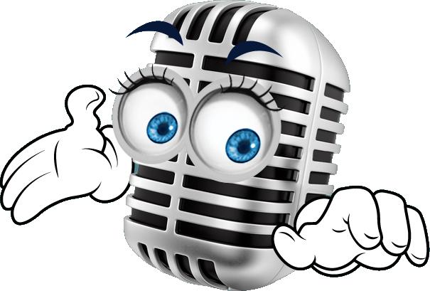 mickey de microfoon